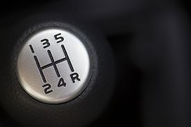 pic of levers  - The gear change lever close - JPG