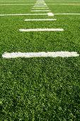 foto of football field  - A shot of an american football field - JPG