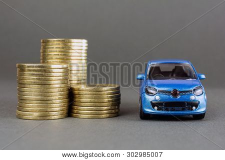poster of Concept Of Insurance, Credit And Car Purchases, Leasing, Car Loan,  Auto Dealership And Rental, New