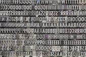 picture of punctuation  - background of letters - JPG