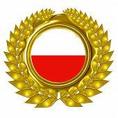 Polish Flag poster