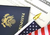 picture of citizenship  - Immigration concept - JPG