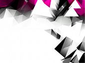 picture of triangular pyramids  - Abstract Triangular Background - JPG