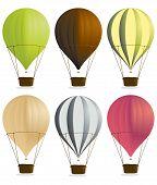 Постер, плакат: Воздушные шары