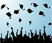 image of graduation hat  - graduation - JPG