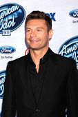 LOS ANGELES - FEB 20:  Ryan Seacrest at the American Idol 13 Finalists Party at Fig & Olive on Febru