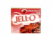 Box Of Jell-o Black-cherry  Dessert