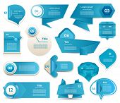 stock photo of diagram  - Modern infographics options banner - JPG