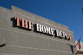JACKSONVILLE, FL-FEBRUARY 16, 2014: A Home Depot store in Jacksonville. The Home Depot is the larges