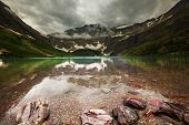 foto of landforms  - Glacier National Park - JPG
