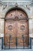 Church wooden door
