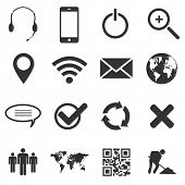 Web and mobile icons set