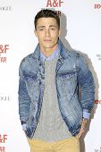 LOS ANGELES - FEB 22: Colton Haynes at the Abercrombie & Fitch 'The Making of a Star' Spring Campaig