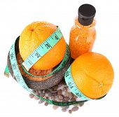 stock photo of bast  - Fresh orange - JPG