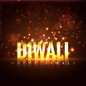 stock photo of diwali  - Vector beautiful diwali background - JPG