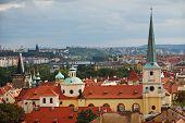 Skyline Of Old Prague, Europe poster
