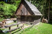 image of chalet  - Small chalet at region Liptov at Slovakia - JPG