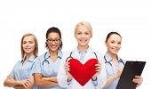 image of nurse practitioner  - healthcare and medicine concept  - JPG