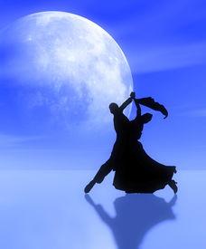 stock photo of waltzing  - Fantasy illustrations - JPG