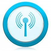 stock photo of movable  - wifi icon wireless network sign  - JPG