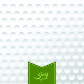 picture of golf bag  - Golf background - JPG