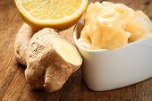 pic of rhizomes  - Time for make ginger tea - JPG