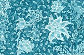 pic of batik  - The Traditional batik sarong pattern background style - JPG