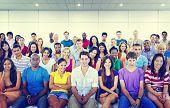 picture of seminars  - Diversity Teenager Team Seminar Training Education Concept - JPG