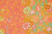 foto of batik  - The Pattern for traditional clothes include batik - JPG