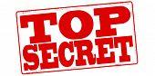 foto of top-secret  - Stamp with text top secret inside vector illustration - JPG