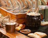 stock photo of high calorie foods  - Traditional Polish food  - JPG