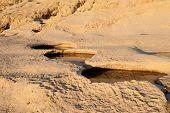 image of gozo  - Limestone coast in Dwejra  - JPG