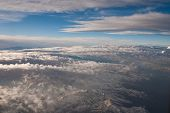 picture of andes  - Andes Mountains aerial view  - JPG