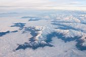 image of andes  - aerial view  - JPG