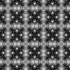 picture of parallelepiped  - background seamless pattern made from piece of lotus in modern style created from filter technique - JPG