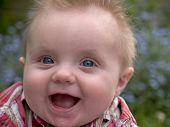 pic of happy baby boy  - happy baby boy - JPG