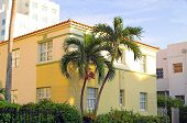 stock photo of buildingshistoric  - art deco building on miami beach - JPG