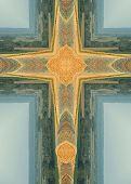 Постер, плакат: Круглые тюки крест