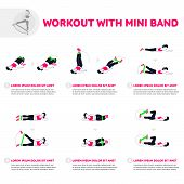 Workout With Mini Band poster