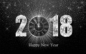 Happy New Year 2017. Vector Background poster