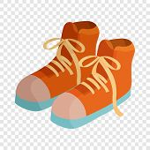 Pair Of Boots Icon. Cartoon Illustration Of Pair Of Boots Vector Icon For Web poster