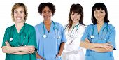 stock photo of medical assistant  - Multi - JPG
