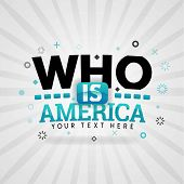 Green Logo For Who Is America. For Food Cover App, Booking Restaurant, Food Websites, Recipe Food, F poster