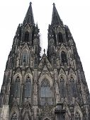 stock photo of koln  - The Gothic Dom in Cologne in Germany - JPG