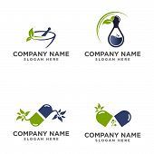 Set Of Medical Logo, Medical Center Logo,heart Logo, Health Logo, Doctor Logo, Medicine Logo, Medica poster