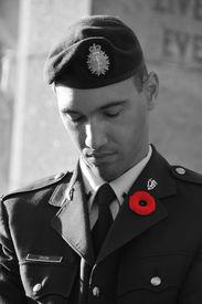 foto of tommy-gun  - MONTREAL CANADA NOVEMBER 6  - JPG
