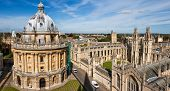 picture of soul  - Radcliffe Camera and All Souls College Oxford University - JPG