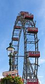 Ferris Wheel Of Vienna In Prater - Austria