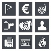 Icons for Web Design set 18