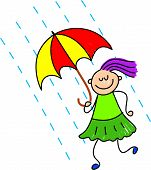Rainy Day Kid poster